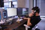 Programista w pracy