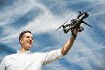 Dron do filmowania z powietrza